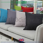 "New Plain Indoor Outdoor Waterproof Garden Furniture Home Cushion Covers 18""x18"""