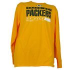 NFL Green Bay Packers Go Pack Go NFC North Yellow Long Sleeve Mens Tshirt $9.99 USD on eBay
