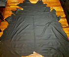 D90 Leather Cow Hide Cowhide Upholstery Craft Fabric Black Graphite Auto Upholst