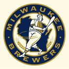 Milwaukee Brewers vinyl sticker for skateboard luggage laptop tumblers  (g) on Ebay