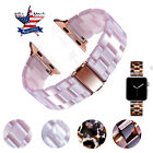 Women Bracelet Resin Watch Band Strap For Apple Watch Iwatch Bangle 38 40 44mm image