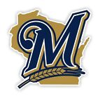Milwaukee Brewers vinyl sticker for skateboard luggage laptop tumblers car (b) on Ebay
