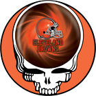 Cleveland Browns vinyl sticker for skateboard luggage laptop tumblers  (f) $7.99 USD on eBay