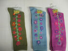 Country Kids Climbing Floral Knee High Girls Socks Sock Size 6 7