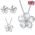'forget Me Not'gorgeous Sterling Silver Jewellery Set Uk Seller