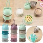 Portable 3 Layer Baby Food Storage Box Non-Spill Infant Kids Feeding Container
