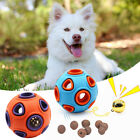 Pet Cat Dog Vocal Toy Bell Ball Leakage Food Ball Dog Molar Funny Toy Supplies&&