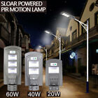 20/40/60W LED Solar Power Garden Lamp Spotlight Lawn Landscape Waterproof Light