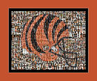 Cincinnati Bengals Player Mosaic Print Art  Using The Greatest Bengals Players $32.0 USD on eBay