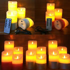 LED Flameless Candle Battery Operated Flickering Tea Light Wedding Decor Cool
