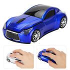 Wireless Sports Car Modeling Game Mouse 2.4G Optical Mice 1200DPI New