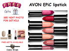 Avon Mark Epic Lipstick FULL SIZE in Shade Holograf, Temptress or Wink of Pink💄?