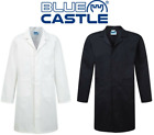Blue Castle 444- Heavy Duty Polyester Cotton - Warehouse Lab Coat Cowgown
