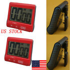 US Large Digital LCD Kitchen Cook Timer Count-Down Up Clock Alarm Magnetic Tool
