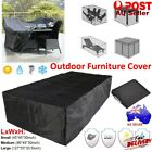 3 Size Waterproof Outdoor Patio Garden Furniture Rain Snow Cover For Table Chair