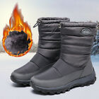 Womens Ladies Waterproof Snow Warm Thermal Winter Outdoor Boots Shoes Size 3-6.5