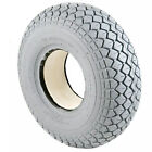 Grey 4.00-5 or 330 x 100 Solid Puncture Proof Mobility Scooter Tyre
