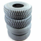 4 x 3.00-4 or 260 x 85 Grey Mobility Scooter Tyres 300x4 2 Blocked 2 Rib Tread
