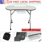 Portable Manicure Table Folding High Density Board Nail Art Desk Toolwith Bag
