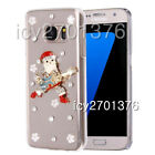 Bling Handmade Christmas Xmas leather soft Cases Diamonds Phone Covers For Sony