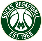 Milwaukee Bucks sticker for skateboard luggage laptop tumblers  (f) on eBay