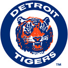 Detroit Tigers vinyl sticker for skateboard luggage laptop tumblers on Ebay