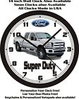 2011 FORD SUPER DUTY PICKUP TRUCK WALL CLOCK-FREE USA SHIP!