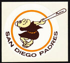 San Diego Padres vinyl sticker for skateboard luggage laptop tumblers  a on Ebay