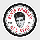 Elvis Presley vinyl sticker for skateboard luggage laptop tumblers (n)