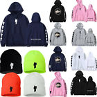Womens Mens Billie Eilish Hoodie Pullover Sweatshirt Rapper Hip Hop Beanie Hat L