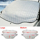 Auto Windshield Snow Sun Cover Tarp Ice Scraper Frost Removal Car Truck Va $9.3 USD on eBay