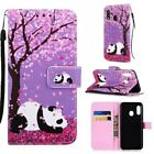 For Samsung Galaxy A10e A40 A70 M10 Pattern Wallet Flip Stand Phone Case Cover