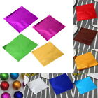 100pcs Chocolate Foil Paper Aluminum Wrappers Candy Sweets Package Decor 02