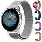 For Samsung Galaxy Watch Active 2 Gear 40/42/44mm Stainless Steel Band image