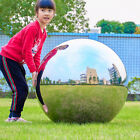 Large Stainless Steel Mirror Sphere Hollow Ball Home Garden Ornament Decoration
