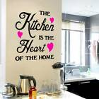 Removable Quote Word Decals Vinyl DIY Home Room Decor Art Wall Stickers s