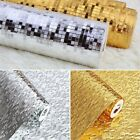 3D Waterproof Gold Folis Glitter Wallpaper KTV Bar Counter Column Wall Decor