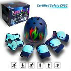 Helmet and Pads for Kids Protective Gear for Girls and Boys Knee Elbow Wrist  image