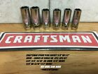 "CRAFTSMAN SPARK PLUG SOCKET 3/8"" OR 1/2"" DRIVE CHOICE OF SINGLE OR 4 / 6PC SET"