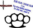 r3074- Brass Knuckles Puño americano Pegatina JDM Tuning Vinyl Decal Sticker
