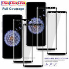 3D Full Cover Tempered Glass Screen Protector For Samsung Galaxy S9&S9 Plus 9H