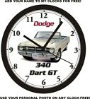 1968 DODGE DART GT 340 WALL CLOCK-Free USA Ship-Dodge $55.99 USD on eBay