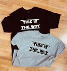 NEW Star-Wars-The Mandalorian TV Series 2019 T-Shirt THIS IS THE WAY, Disney  image