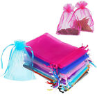 Kyпить 100/200 Organza Wedding Party Favor Gift Bags Candy Sheer Bag Jewelry Pouches на еВаy.соm