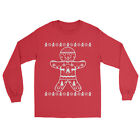 Gingerbread Ugly Christmas Festival Gift Full Sleeve Sweatshirts Holiday Sweater