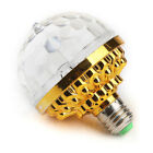 Mini RGB Crystal Magic Ball Rotating LED DJ Stage Light Bulbs Disco Party Lamp