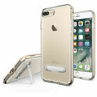 New Ultra Hybrid Clear Hybrid Bumper Kickstand Case Cover Shockproof for iPhone