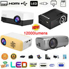 12000 Lumen Projector 1080P WIFI LED LCD Multimedia Smart Home Theater HDMI USB