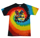 Sesame Street T-Shirt Tie Dye FUNNY ASSORTED COLORS Cute Kids XS-L,Adults S-5XL