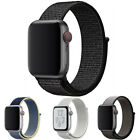 Nylon Band Strap For Apple Watch Iwatch Series 6 Se 5 4 3 2 1 38/40mm 42/44mm